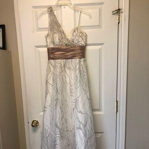 Cache full-length dress
